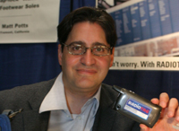 Elliot Klein, Founder and CEO of Intellareturn, a winner at the Invent Now America Exposition in Orlando, Florida