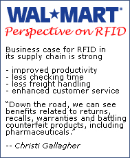 The Wal-Mart Perspective on RFID